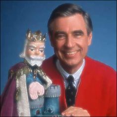 Mr Rogers. Did you know they still show his complete episodes on pbskids.com? I hope he is never forgotten!