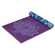 Yoga Mat - Gaiam Print Yoga Mats www. - Yoga Mat by DynActive- inch Thick Premium Non Slip Eco-Friendly with Carry Strap- TPE Material The Latest Technology in Yoga- High Density Memory Foam- Non Toxic, Latex Free, PVC Free Sciatica Exercises, Mat Exercises, Floor Exercises, Yoga Challenge, Videos Yoga, Floor Workouts, Types Of Yoga, Free Yoga, Exercises