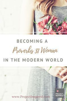 The next time you think to yourself that being a Proverbs 31 woman is impossible and overrated, we hope you remember how simple it truly is: love God and love others.
