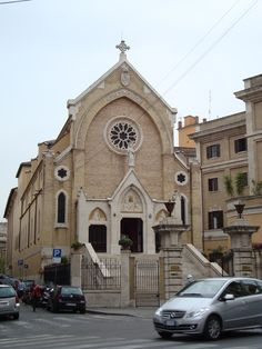 Sant'Alfonso de'Liguori all'Esquililno, Rome.  A 19th century convent and titular church.  Designed in 1855-58 by George Wigley an Englishman.  The Redemptorist order is in charge.