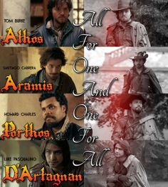 The Musketeers : All For One & One For All