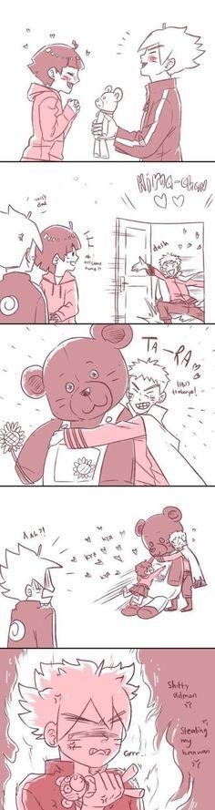 Naruto, experto en arruinar el ambiente