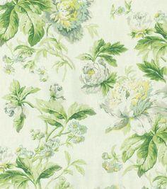 Waverly Upholstery Fabric-Flueretta/Spring