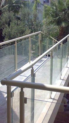 Aluminyum Kupeste Korkuluk Da Kampanya Merdiven 2 Seritli 85 Cm
