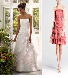 Stunning David us Bridal bridal gown bridesmaids dresses lot Size