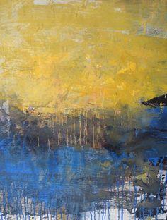 Bernadette Morand Acrylique sur toile 100 x 80 cm