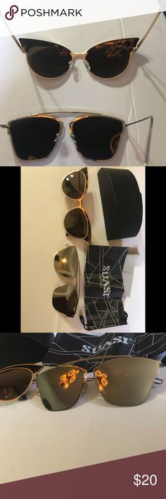 851fae104e1e 2 fashion Sunglases Fashioned after famous designers but not the designer  price! This includes both pairs.
