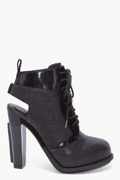 Alexander Wang Dakota Lace Up Booties for women - StyleSays