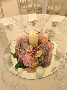 Rainbow Centerpiece | Papery & Cakery