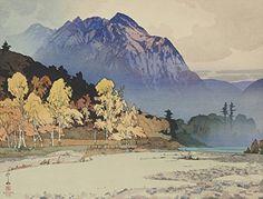 "Japanese Art Print ""Hodakayama in Rain (Ugo No Hodakasan)"" by Yoshida Hiroshi. Shin Hanga and Art Reproductions http://www.amazon.com/dp/B00Y1LZL4Y/ref=cm_sw_r_pi_dp_YhUuwb0GSA5VG"
