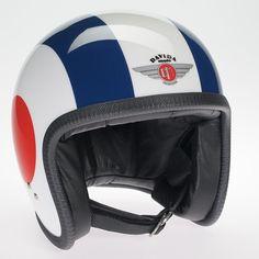 Davida Ninety Two Helmet - White Red White Target 3dd7943738fba