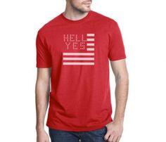 Hell yes, America Tee