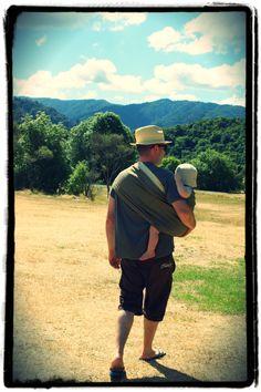 the sling diaries: marcus and albie babywearing beauty! #sakurabloom
