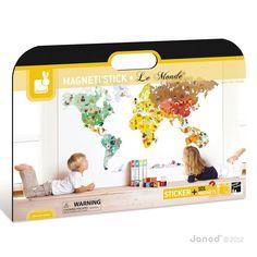 Lovely sticker map monde multicolore little sch ner wohnen Pinterest Weltkarte Sticker und Kinderzimmer