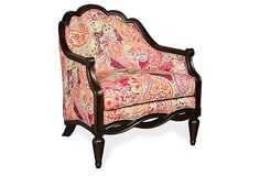 One Kings Lane - Weekend Round Up - Nina Chair, Red $1099