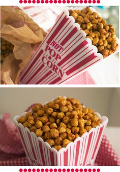 Crunchy toasted chickpeas
