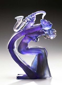 Something quite interesting...Glass sculpture by Leah Wingfield and Steve Clements.
