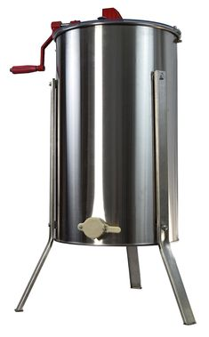 Brand New Three-Frame Honey Extractor from VIVO perfect for all levels of beekeeping! The solid extractor body is constructed of.