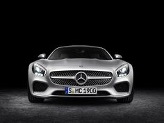 Photographs of the 2016 Mercedes-Benz AMG GT. An image gallery of the 2016 Mercedes-Benz AMG GT. Mercedes Benz Amg, New Sports Cars, Sport Cars, Porsche, Daimler Ag, Auto Motor Sport, Gt Cars, Automotive Photography, Automotive News