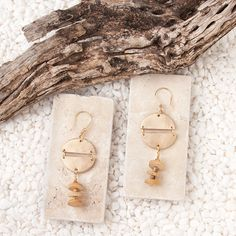 Zora Tassel Earrings // Dangle drop earrings - perfect for wear day to night.