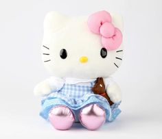 "Hello Kitty 8"" Fairy Tale Plush: Dorothy ~For me the cuteness factor would have tripled if her bow was red and her shoes were red and sequined."