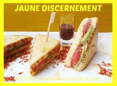 Fraîcheur de «Club-sandwich» revisité sucré en trompe-l'œil… «Chocolaté blanc et fruité pomelo-avocat» !
