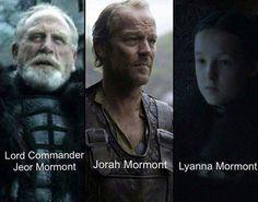 House Mormont of Bear Island.