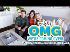 I wany everything in this video!! #MrKate1Million Studio Apartment Design Challenge for Joslyn Davis - YouTube