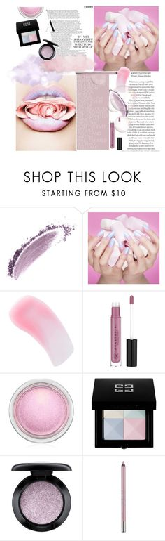 """Candy Lips : Marshmallows"" by dawn-sbh ❤ liked on Polyvore featuring beauty, NARS Cosmetics, Charlotte Tilbury, Anastasia Beverly Hills, MAC Cosmetics, Givenchy and Urban Decay"