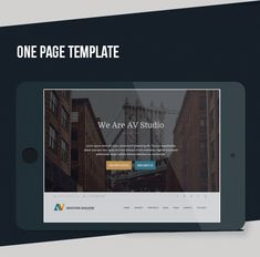 Buy AV Studio - One Page WordPress Theme by modeltheme on ThemeForest. AV Studio is a professional One page WordPress template for any business or portfolio website, it? Wordpress Template, Page Template, Templates, Google Fonts, Grid System, Portfolio Website, Pattern Drawing, First Page