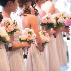 Rose Bridesmaid Bouquets