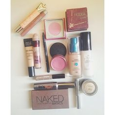 I actually have Naked basics and They're Real but I want everything else in this pic!!