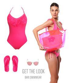7544a4675 GET THE LOOK  bariswimwear  swimwear  pink  2014. BARI SWIMWEAR