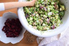 Paleo Broccoli Salad- My go-to Party Salad - Nesting With Grace