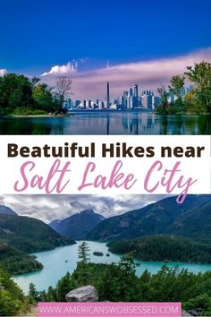 Salt Lake City Hiking Trails: Are you looking for the best hikes in Salt Lake City?  This list has some of the best hiking near Salt Lake City and Salt Lake City hikes for all activity levels.