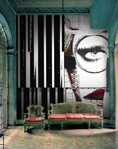 The Eye Daisy James Wallpaper