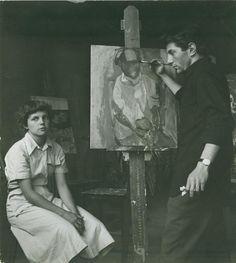louise fitzhugh at barnard, circa 1950 and killing it.