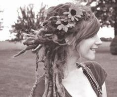 Dreads and bangs! Yes.yes.yes!