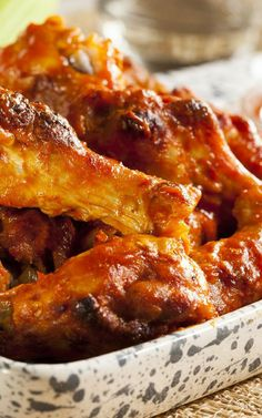 Caramelized Baked Chicken Legs/Wings Recipe