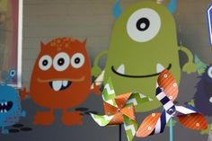 Adorable monster party.  Tons of cute ideas.