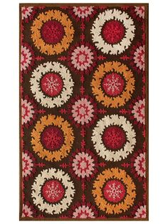 Prego Brown Rug from the Assorted Traditional Rugs collection at Modern Area Rugs Rug Shopping, Joss And Main, Rugs, Suzani, Small Area Rugs, Beautiful Rug, Nuloom, Modern Area Rugs, Hand Tufted Rugs