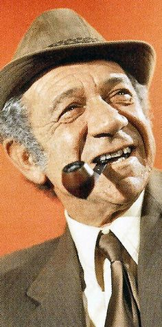 Sid James in a promo shot for Carry On Matron