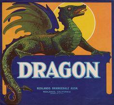Dragon Oranges - Redlands, CA