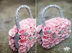 Fresh Floral Purse,This would be so perfect for a wedding!