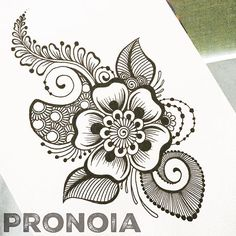 So much inspiration comes from my sweet friend and talented mentor . this design isn't lifted from her work and I… Henna Designs On Paper, Mehndi Art Designs, Beautiful Rangoli Designs, Henna Tattoo Designs, Doodle Designs, Henna Patterns Hand, Simple Henna Patterns, Zentangle Patterns, Tatoo Henna