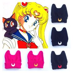Sailor Moon Luna Inspired Cat Hand Patched by MoonShineApparel, $29.99