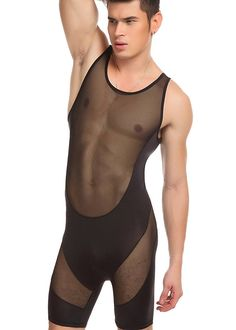 Super Sexy One Piece Garment Mesh Transparent Thin Sleepwear Sets for Men – Newchic Mobile. Super Sexy One Piece Garment Mesh Transparent Thin Sleepwear Sets for Men – Newchic Mobile. Cabaret, Lingerie For Men, Sleepwear Sets, One Piece Bodysuit, Gay, Bodysuit Lingerie, Slim Man, Sexy Men, Fashion Clothes