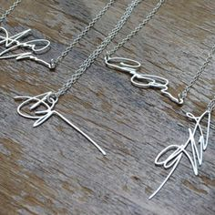 LOVE these! From our friends at FairGood.com Signature Necklace - Fairgoods