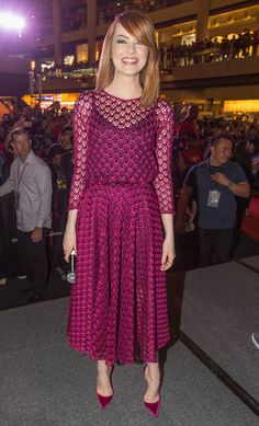 Emma Stone - 'The Amazing Spider-Man 2' Event in Singapore