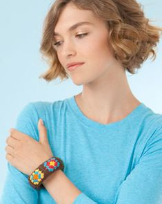 Grannies Bangles, free pattern by Erin Elkins for Simplicity